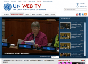 IFUW Oral Statement at CSW59