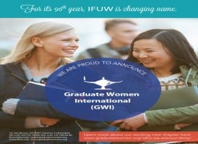 IFUW proudly presents GWI