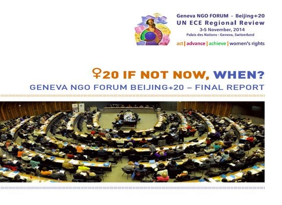 Geneva NGO Forum Beijing+20 – Final Report