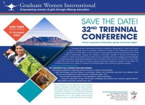 32nd Triennial Conference 2016