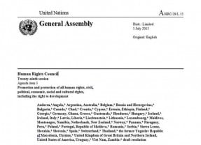UN Human Rights Council Adopts Resolution to End Child, Early & Forced Marriage