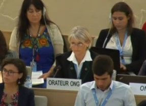 GWI delivers statement at Human Rights Council
